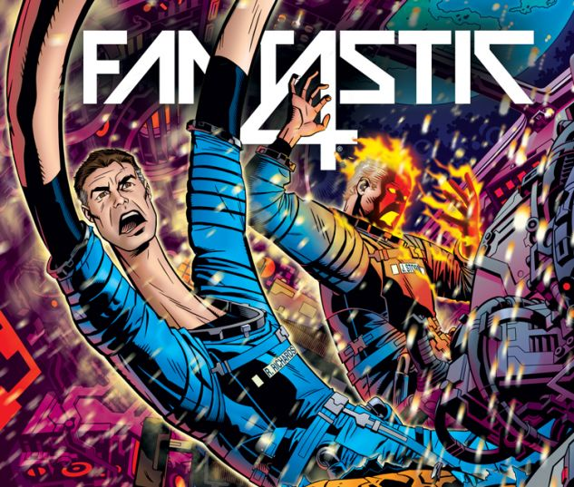 FANTASTIC FOUR 642 GOLDEN CONNECTING VARIANT (WITH DIGITAL CODE)
