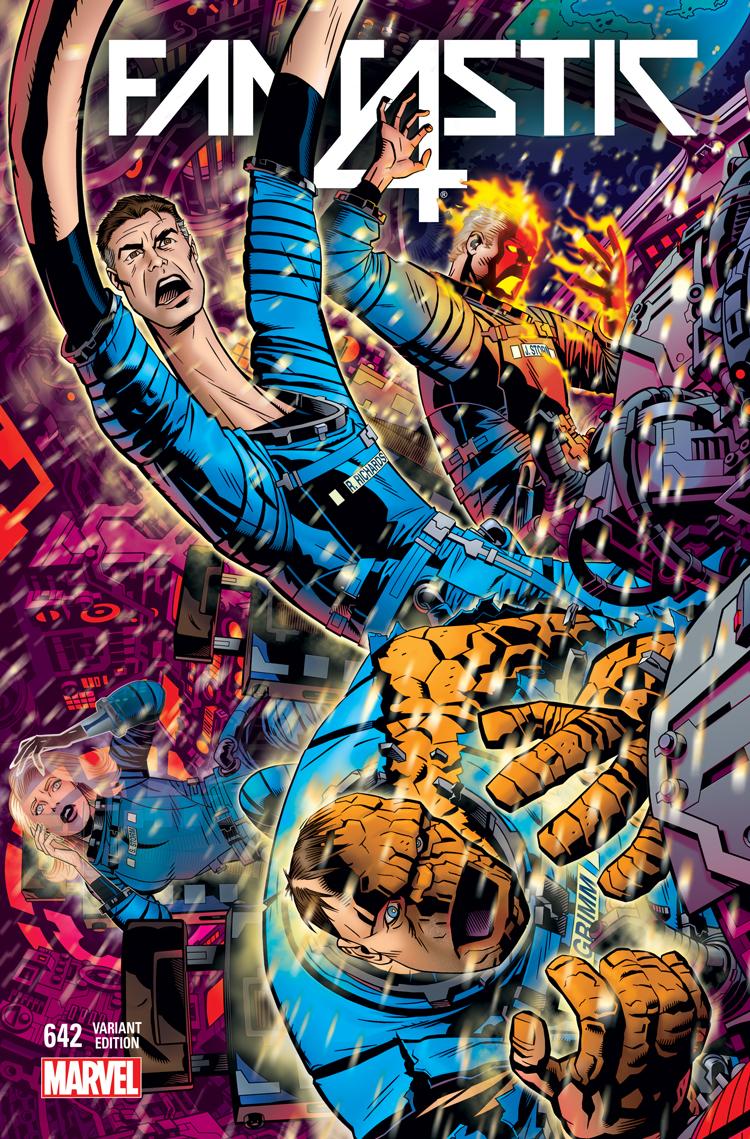 Fantastic Four (2014) #642 (Golden Connecting Variant)