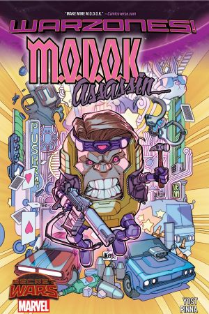 M.O.D.O.K. Assassin (Trade Paperback)