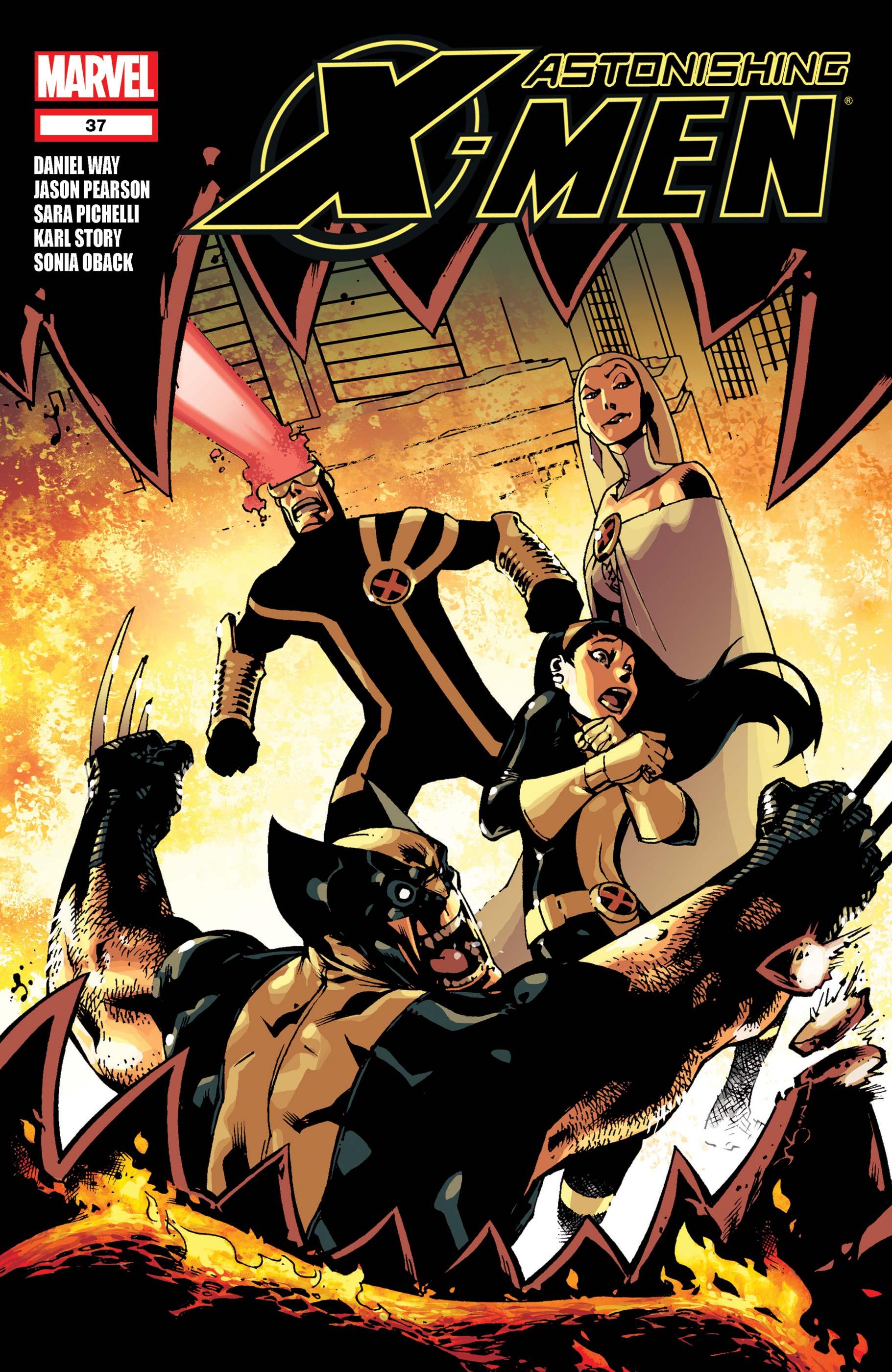 Astonishing X-Men (2004) #37