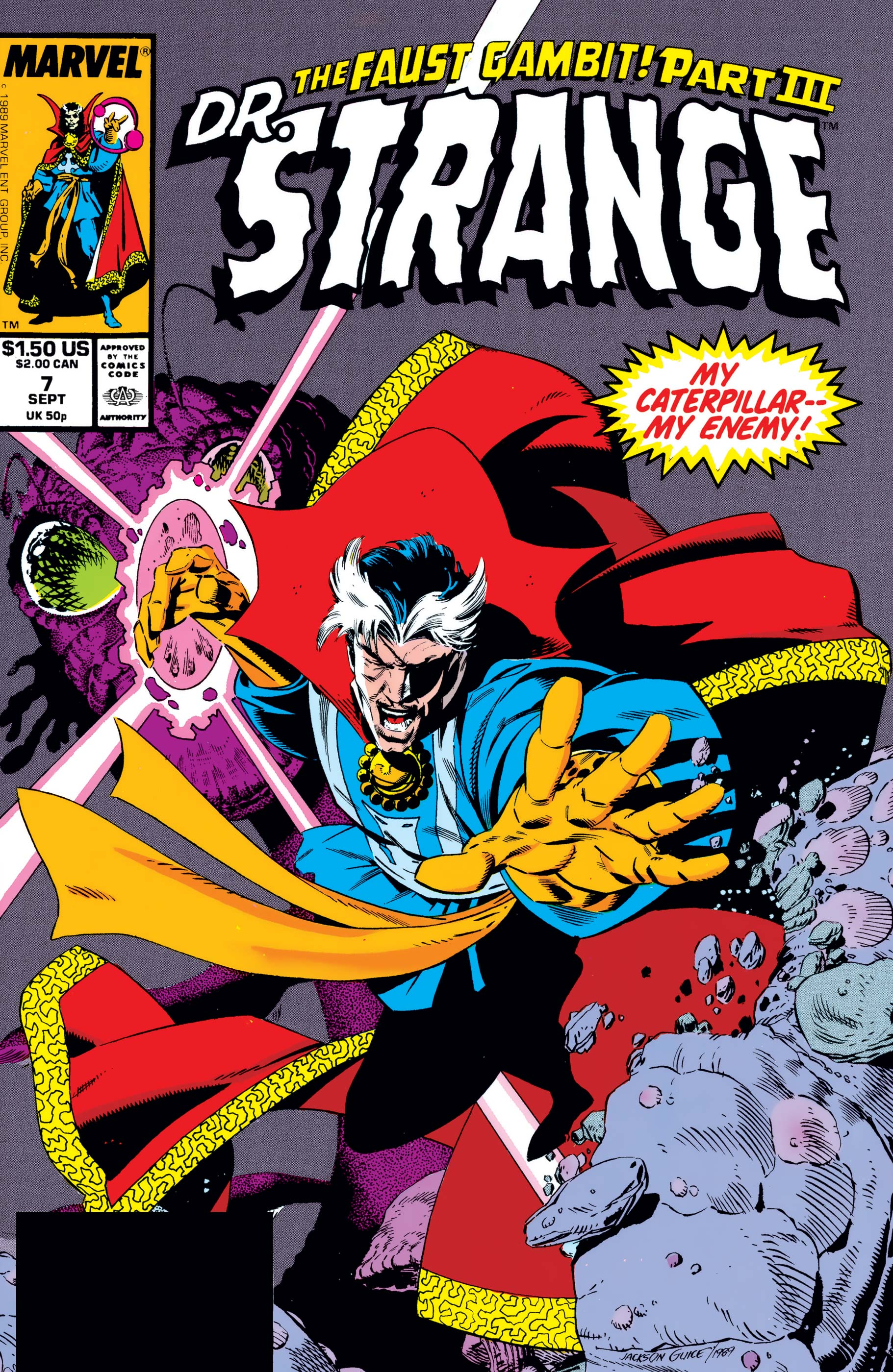 Doctor Strange, Sorcerer Supreme (1988) #7