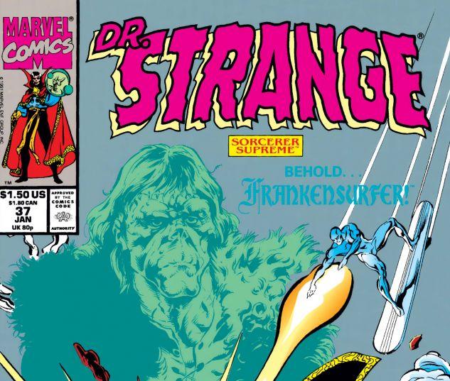 Cover for Doctor Strange, Sorcerer Supreme 37