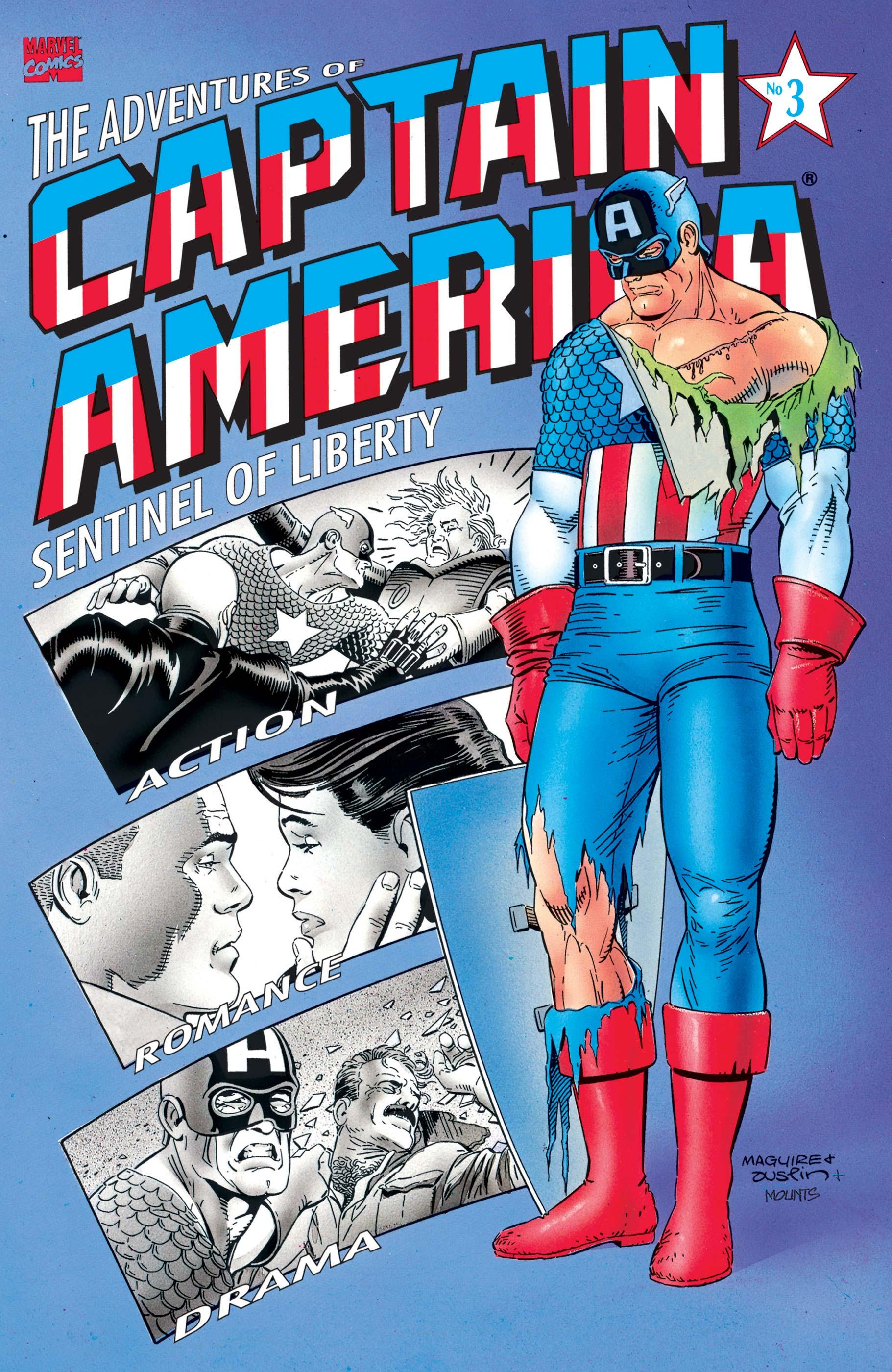 Adventures of Captain America (1991) #3