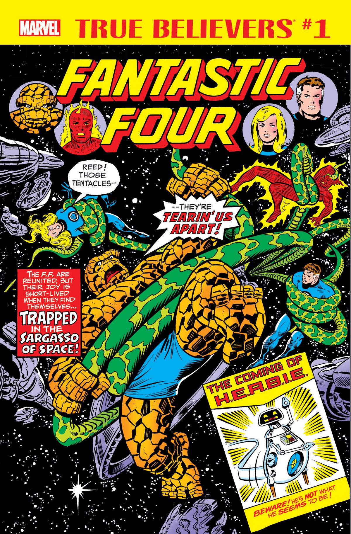True Believers: Fantastic Four - The Coming of H.E.R.B.I.E. (2018) #1