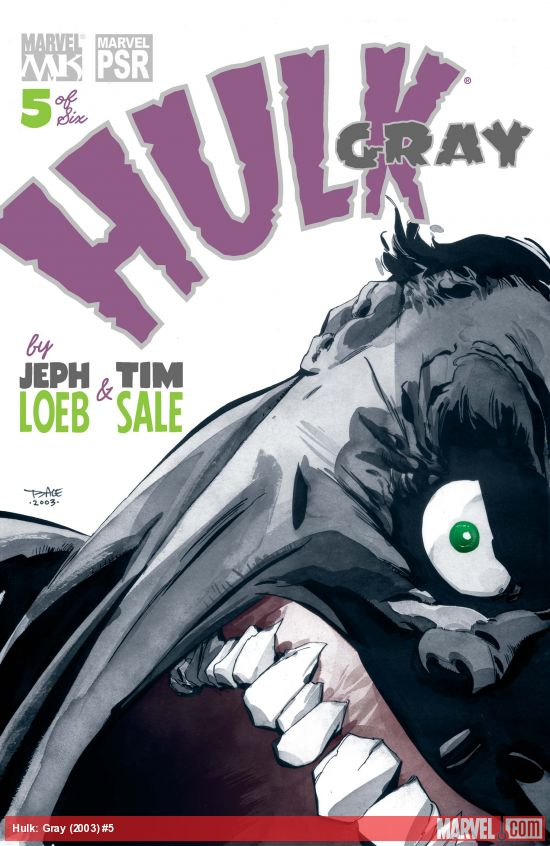 Hulk: Gray (2003) #5
