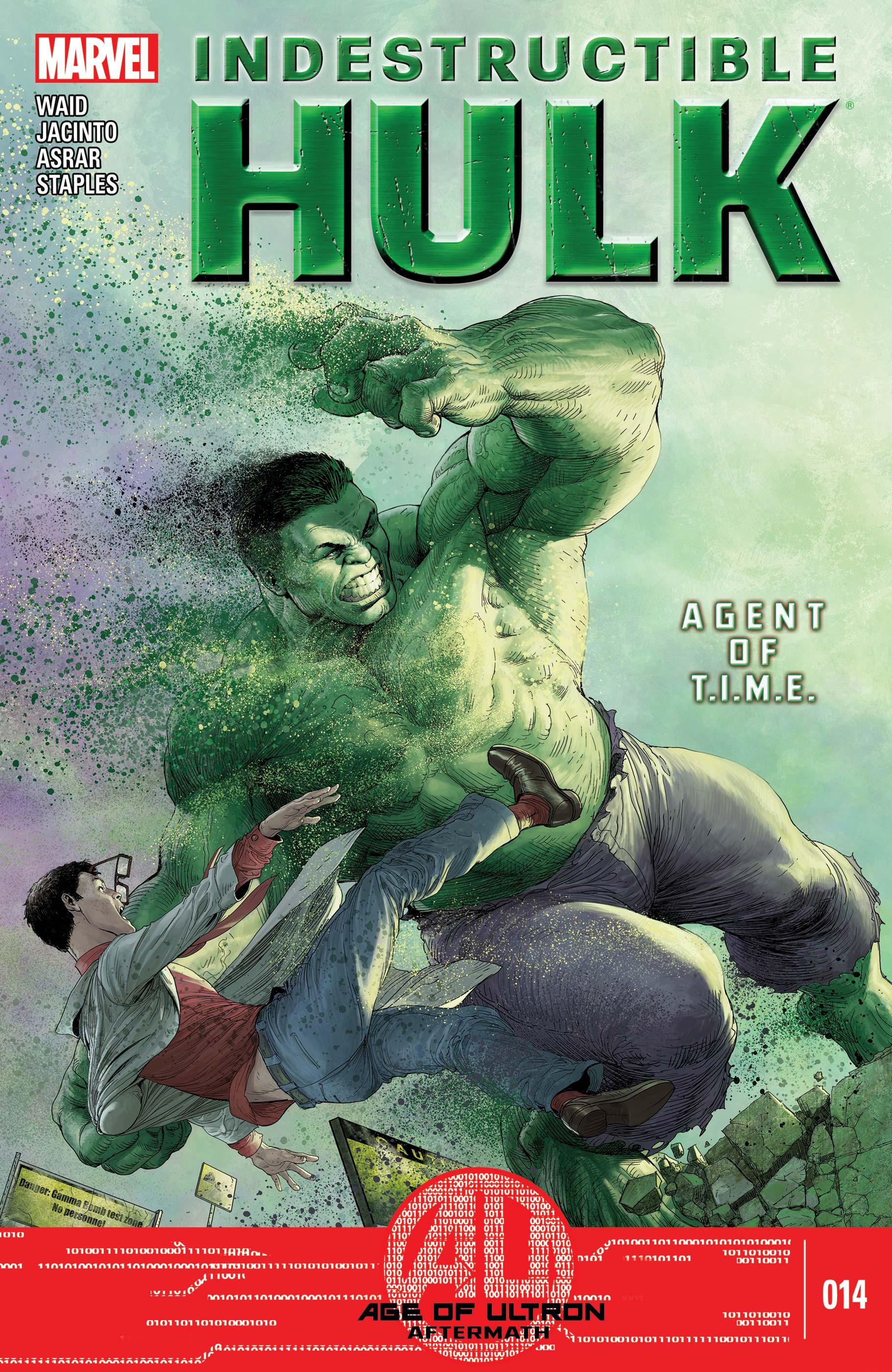 Indestructible Hulk (2012) #14