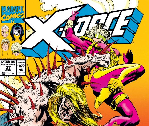 X-FORCE,ISSUE 1,AUG