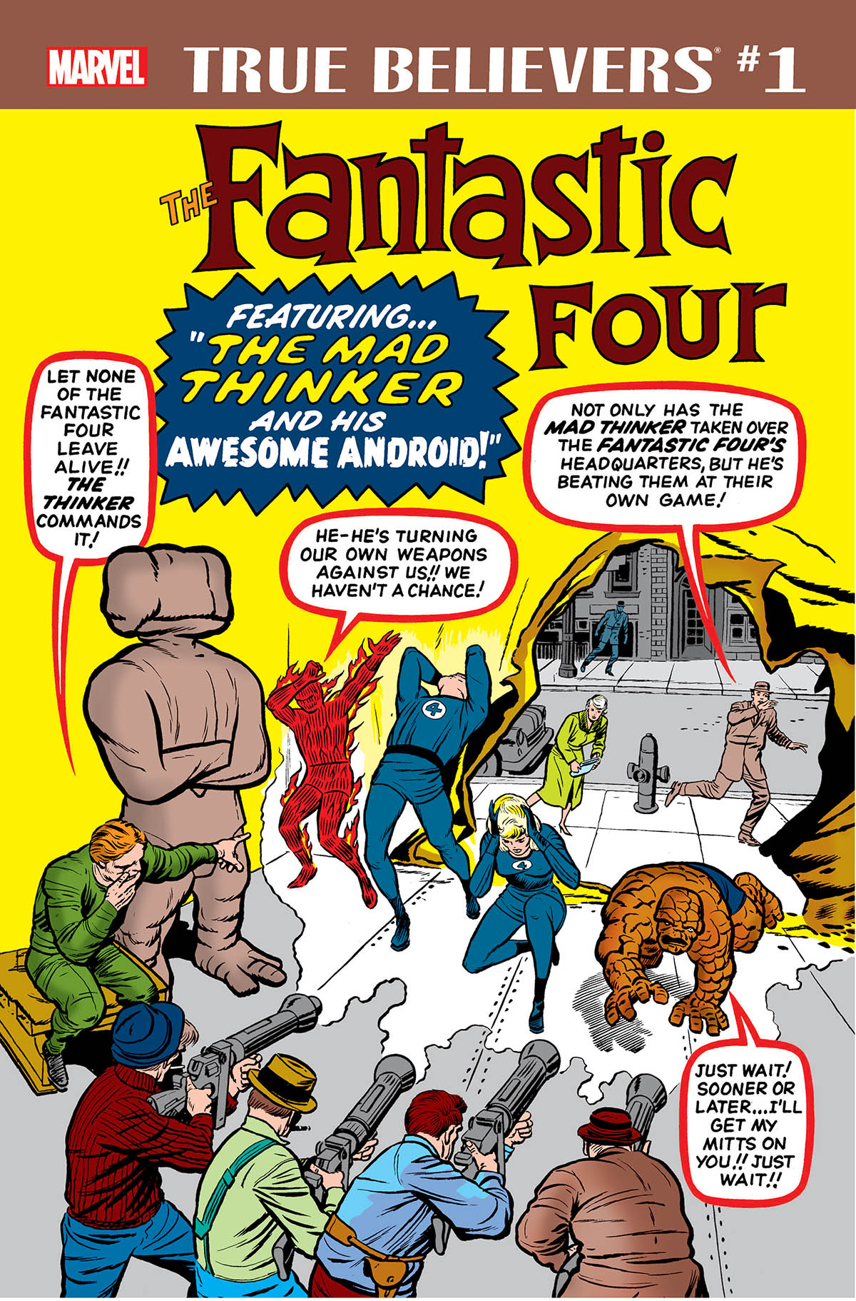 True Believers: Fantastic Four - Mad Thinker & Awesome Android (2018) #1