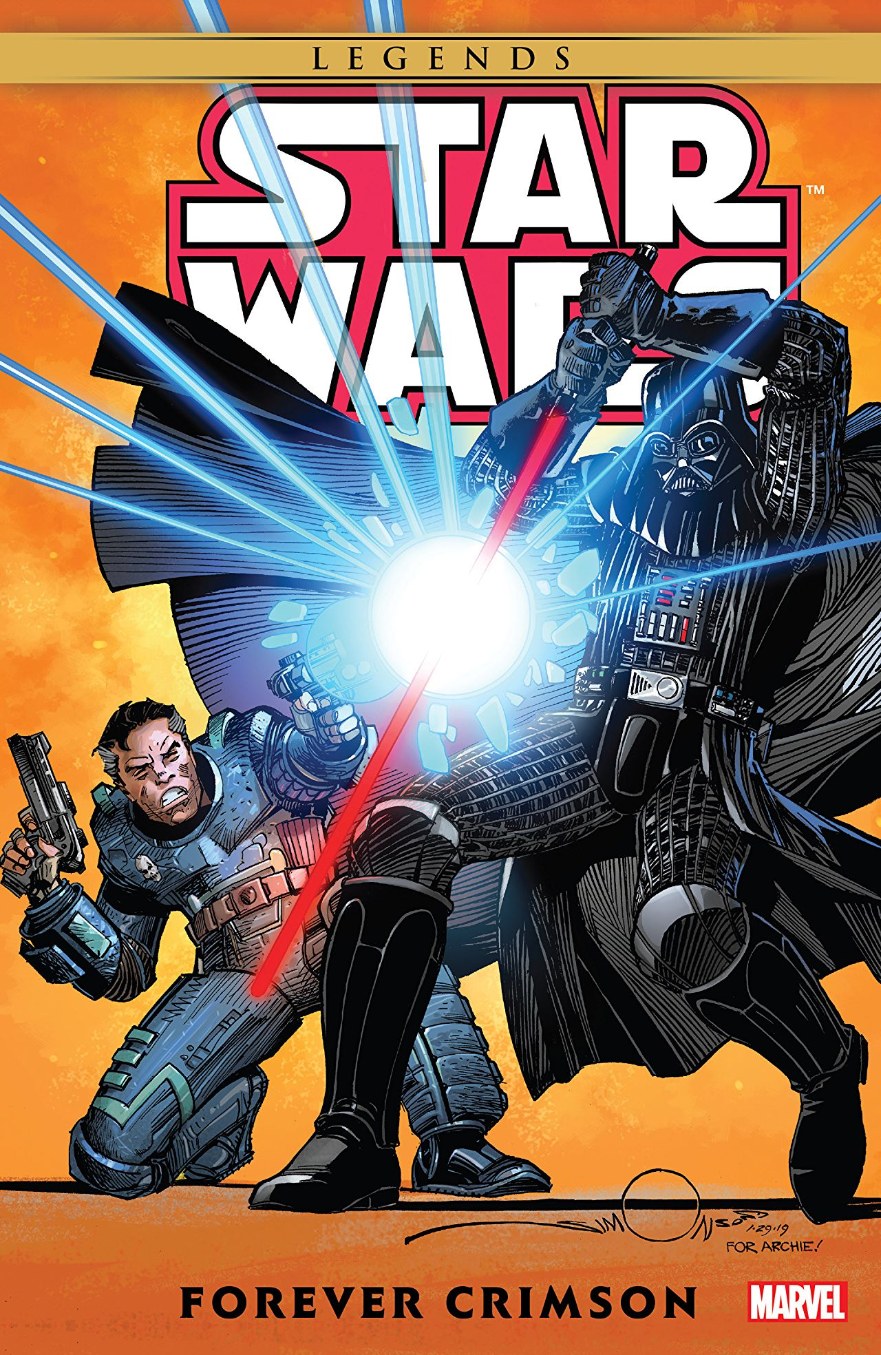 Star Wars Legends: Forever Crimson (Trade Paperback)