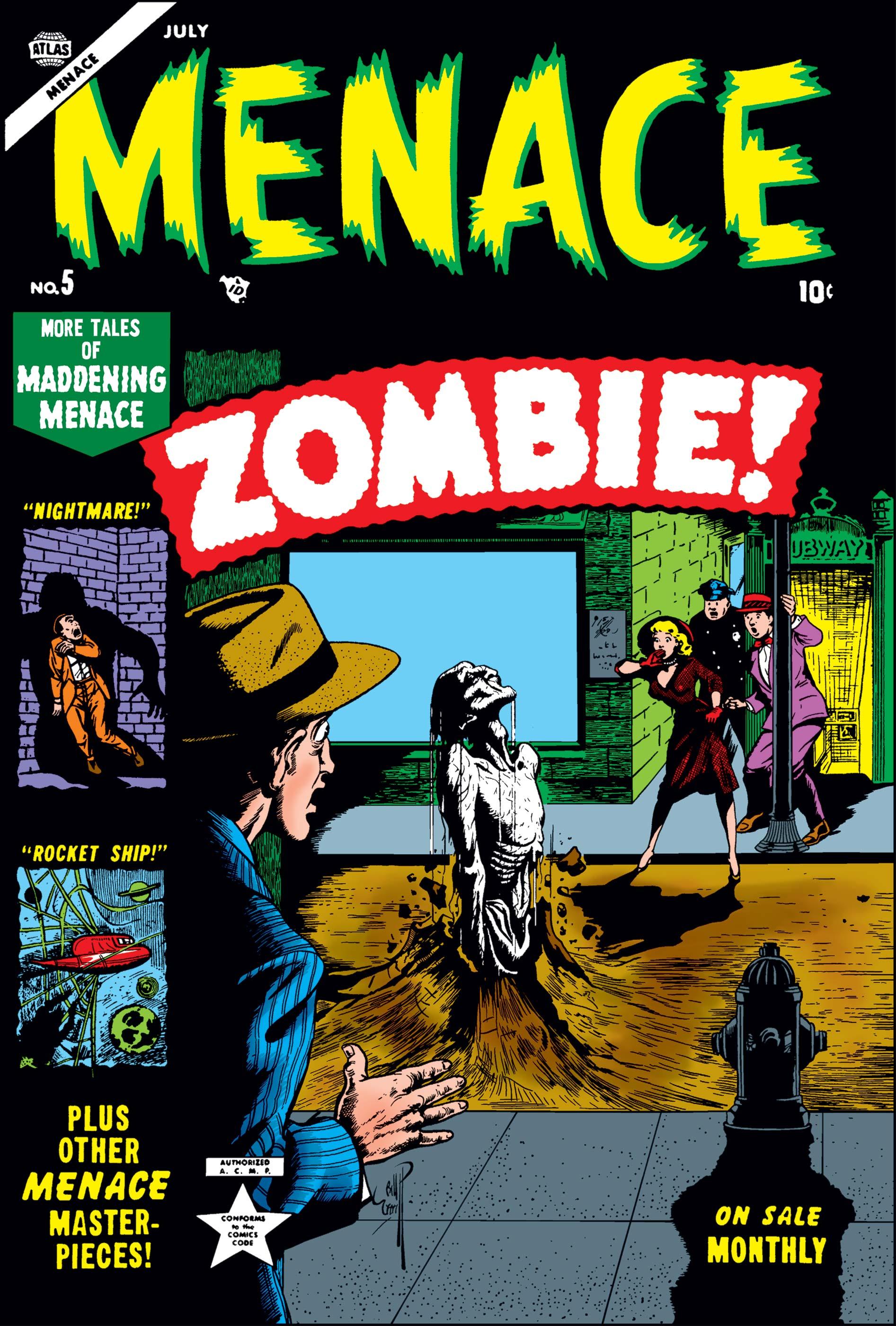 Menace (1953) #5