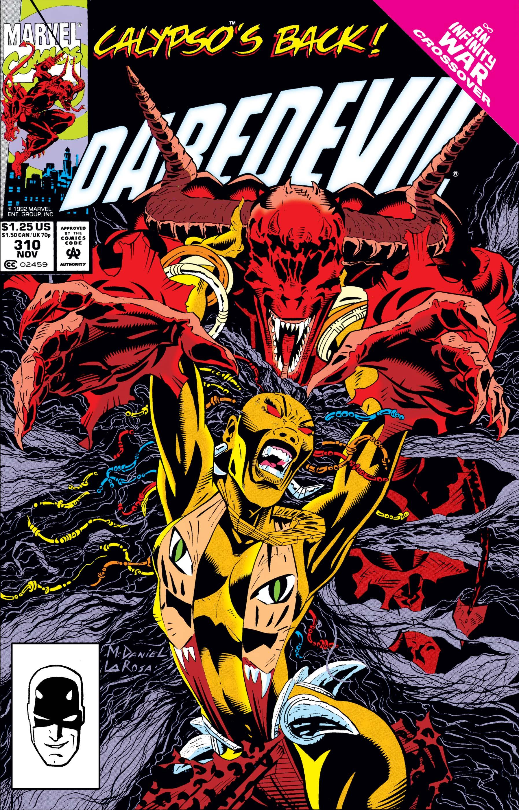 Daredevil (1964) #310