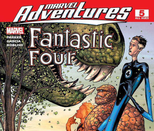 Marvel Adventures Fantastic Four #5