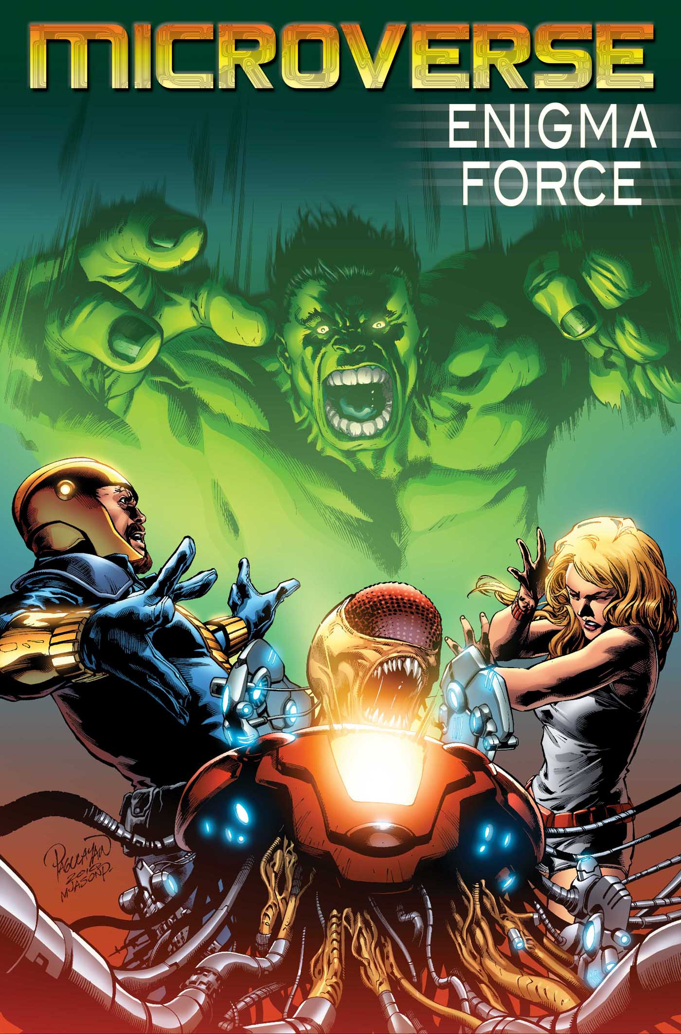 Microverse: Enigma Force (2010) #2