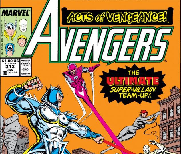 Avengers (1963) #313 Cover