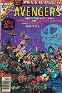 Avengers Annual (1967) #7 cover