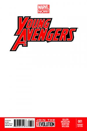 Young Avengers (2013) #1 (Blank Cover Variant)