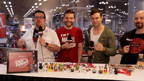 NYCC 2013: Taran Killam, Marc Andreyko Interview