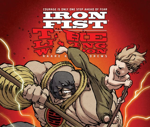 IRON FIST: THE LIVING WEAPON 3 (ANMN, WITH DIGITAL CODE)