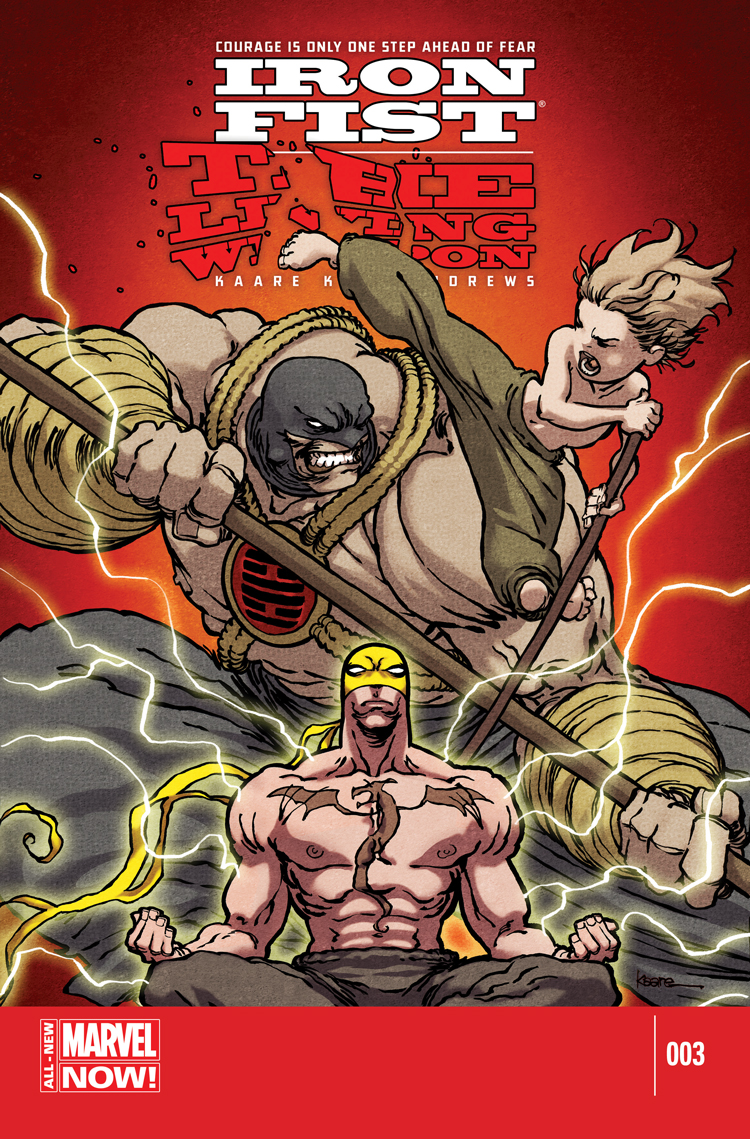 Iron Fist The Living Weapon 2014 3 Comic Issues Marvel