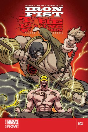 Iron Fist: The Living Weapon (2014) #3