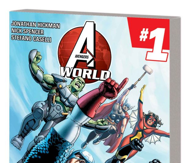 AVENGERS WORLD VOL. 1: A.I.M.PIRE TPB