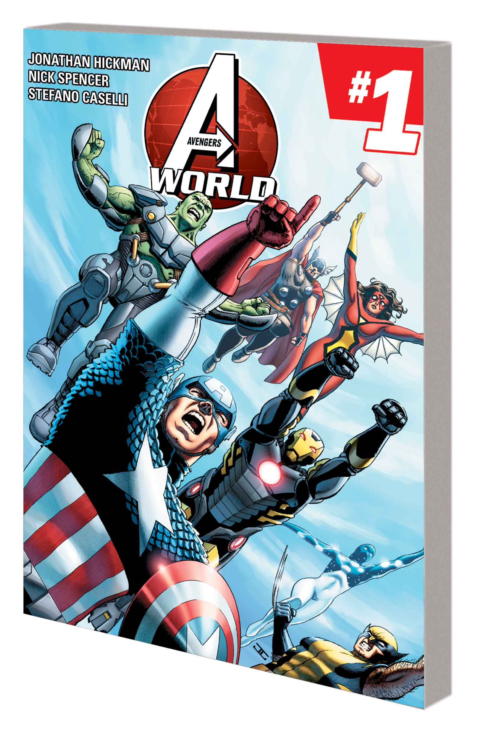 AVENGERS WORLD VOL. 1: A.I.M.PIRE TPB (Trade Paperback)