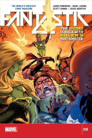 Fantastic Four (2014) #10