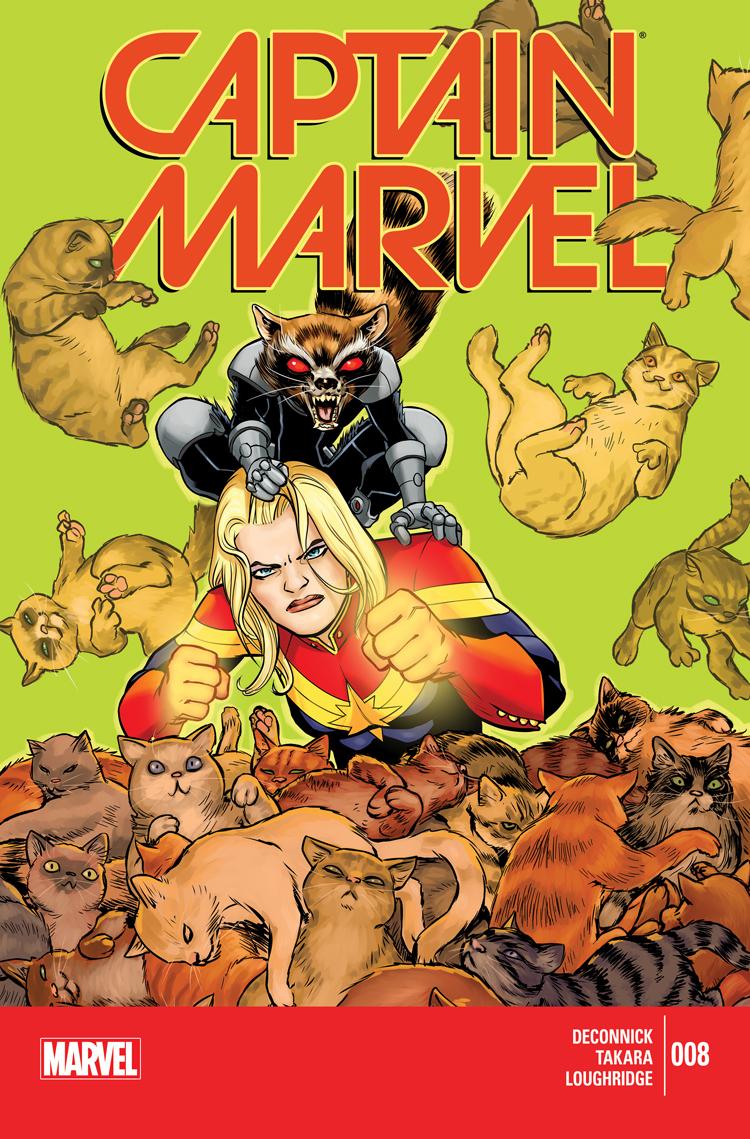 Captain Marvel (2014) #8