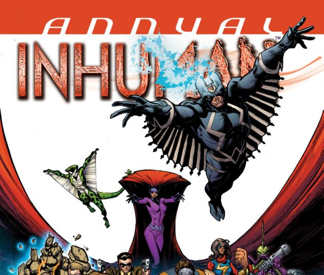 INHUMAN ANNUAL 1 (WITH DIGITAL CODE)