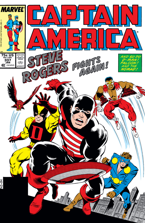 Captain America (1968) #337