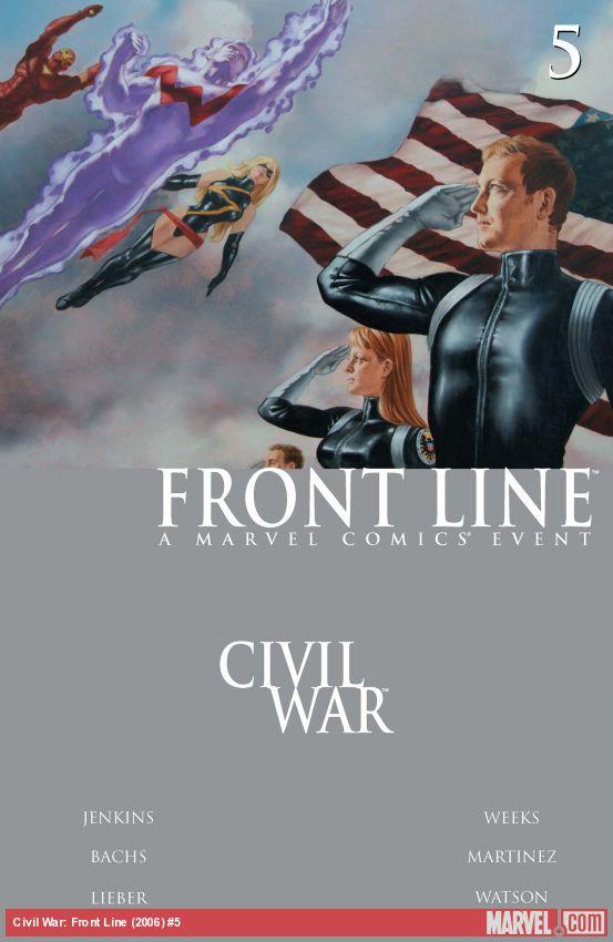 Civil War: Front Line (2006) #5