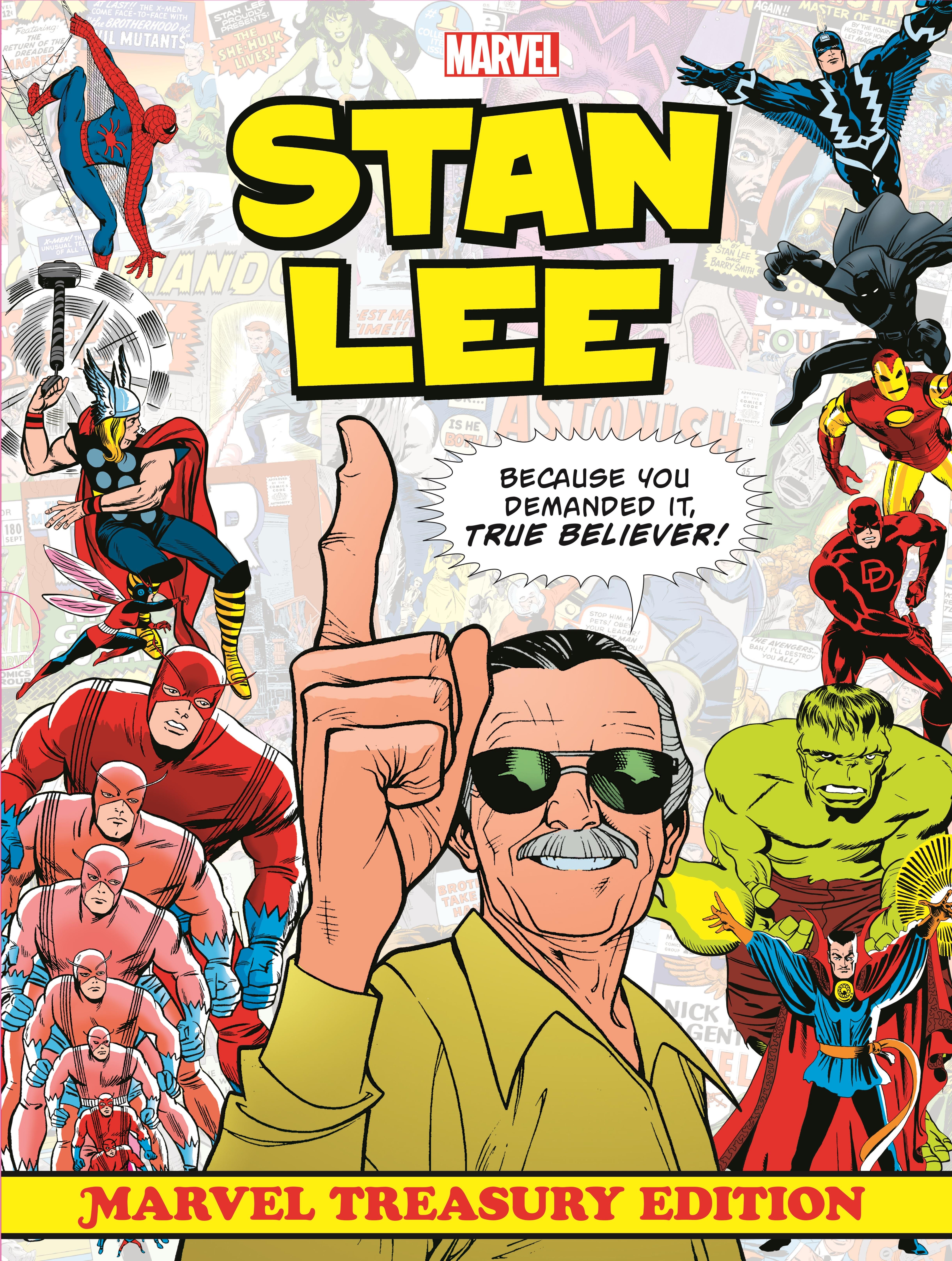 Stan Lee: Marvel Treasury Edition (Hardcover)