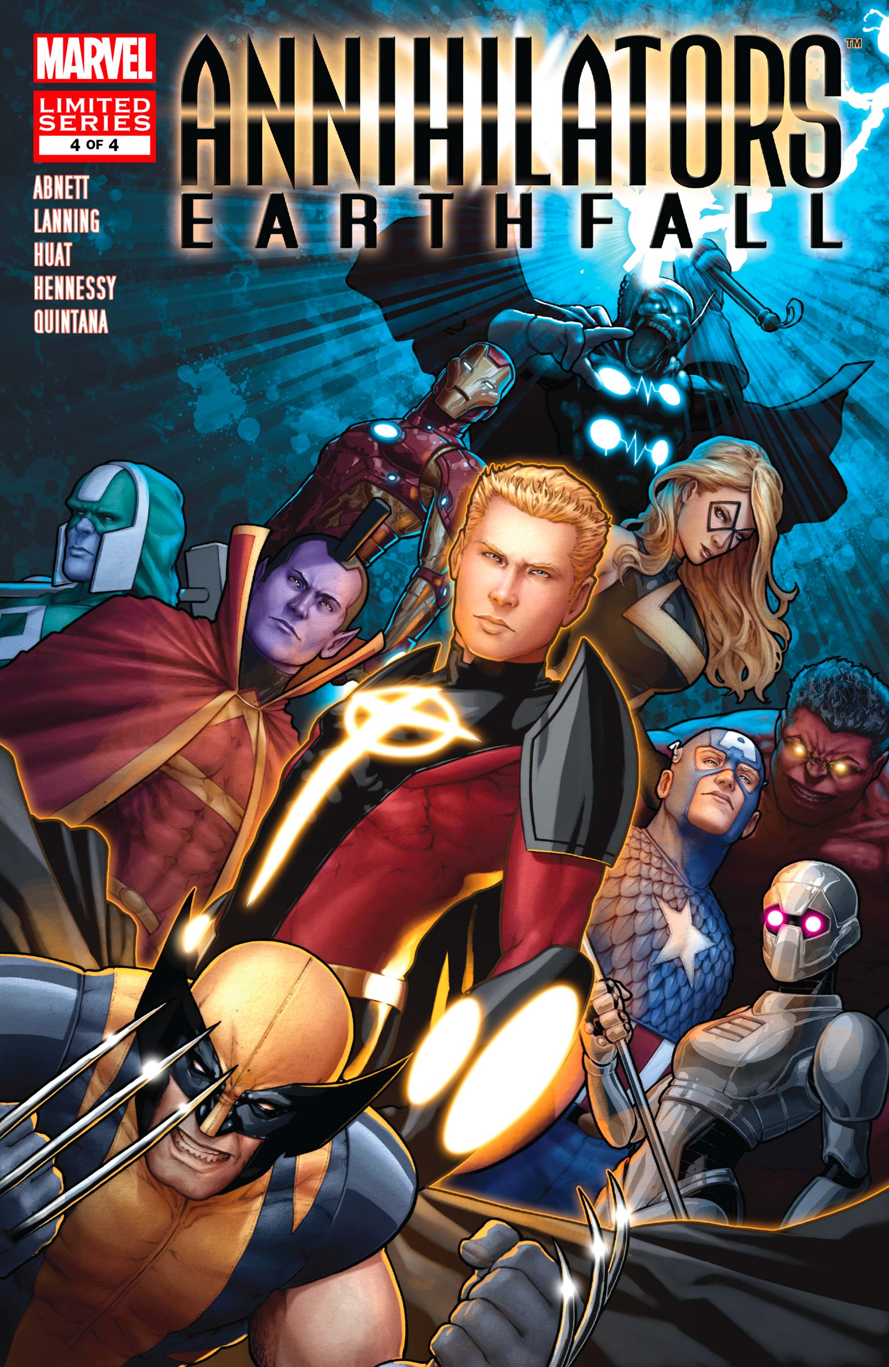 Annihilators: Earthfall (2011) #4
