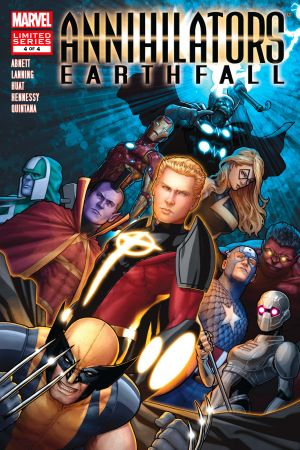 Annihilators: Earthfall (2011) #4