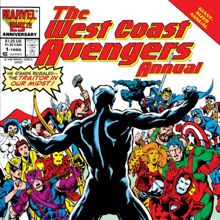 Avengers West Coast Annual (1986)