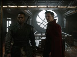 Mordo (Chiwetel Ejiofor) and Strange (Benedict Cumberbatch) in Marvel's 'Doctor Strange,' in theaters Nov. 4