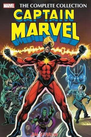 Captain Marvel by Jim Starlin: The Complete Collection (Trade Paperback)