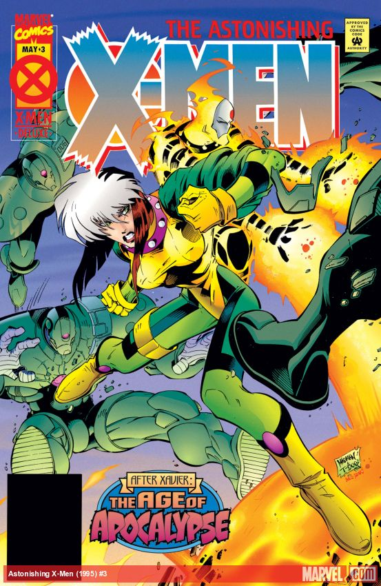 Astonishing X-Men (1995) #3