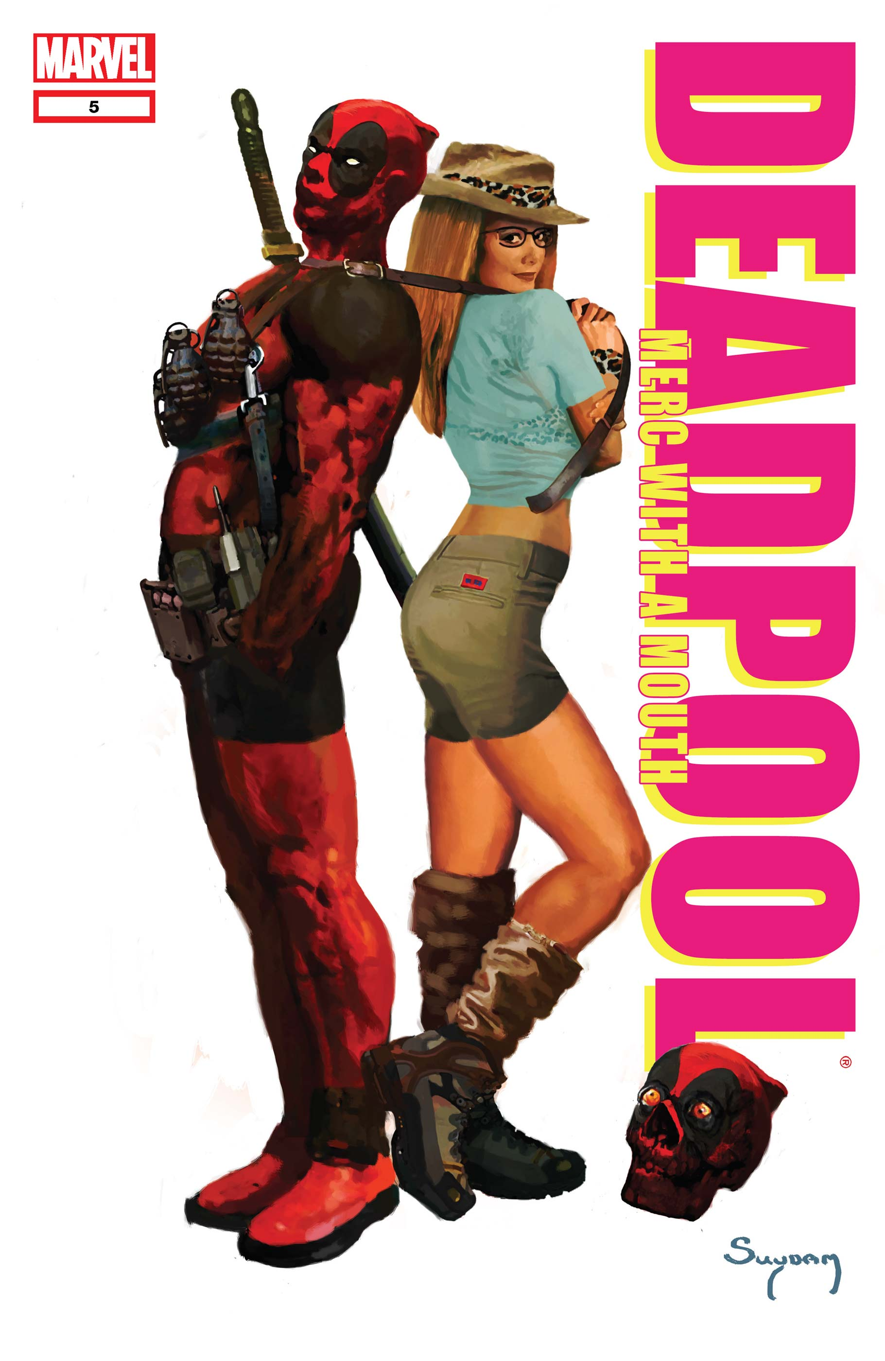 Deadpool: Merc with a Mouth (2009) #5
