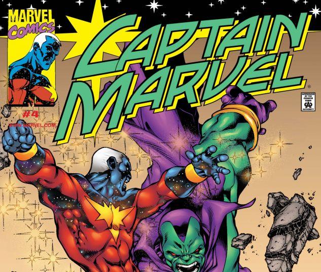 Captain Marvel (2000) #4