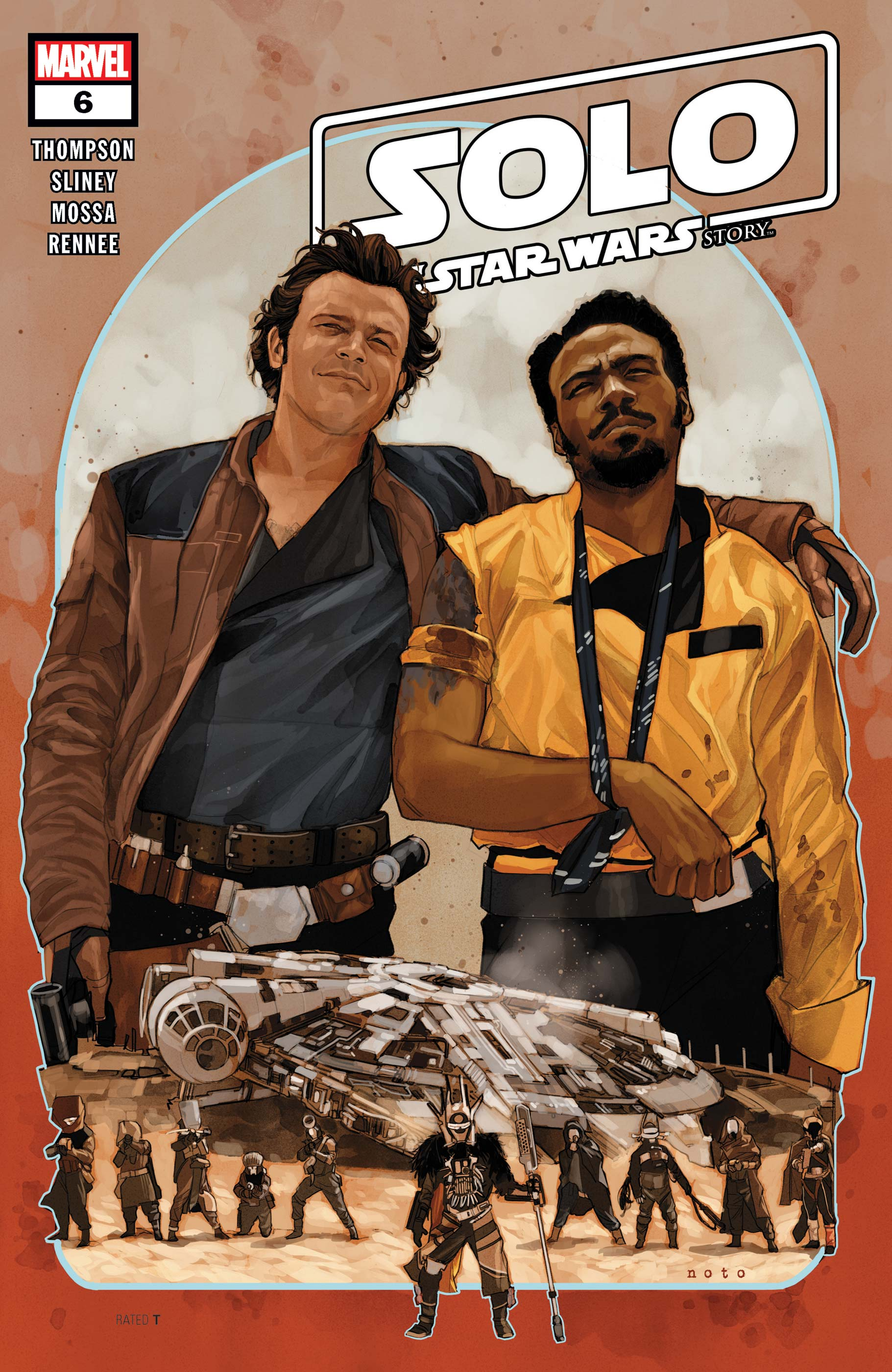Solo: A Star Wars Story Adaptation (2018) #6