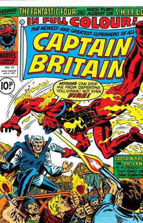Captain Britain (1976) #13