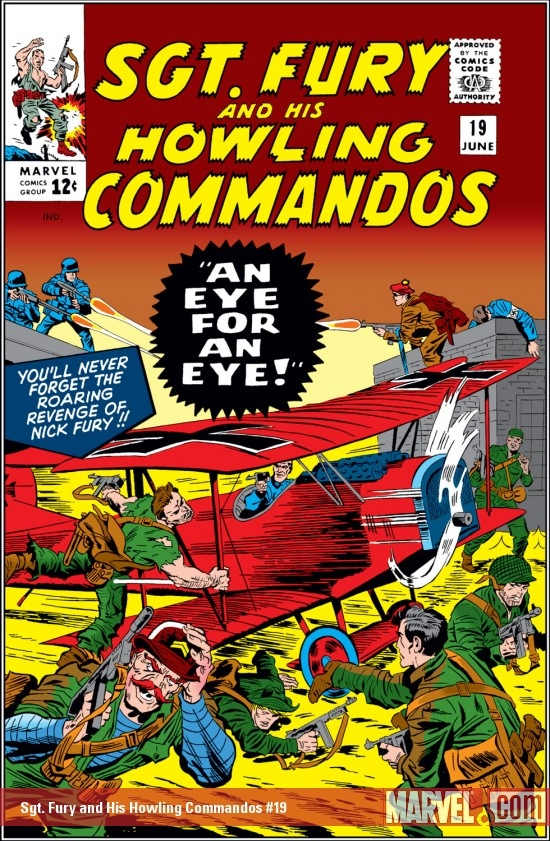 Sgt. Fury and His Howling Commandos (1963) #19