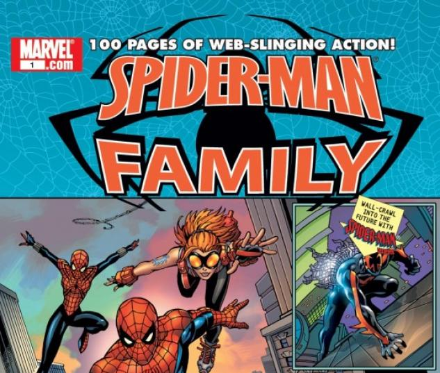 SPIDER-MAN FAMILY (2001) #1 COVER