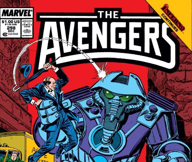 Avengers (1963) #298 Cover