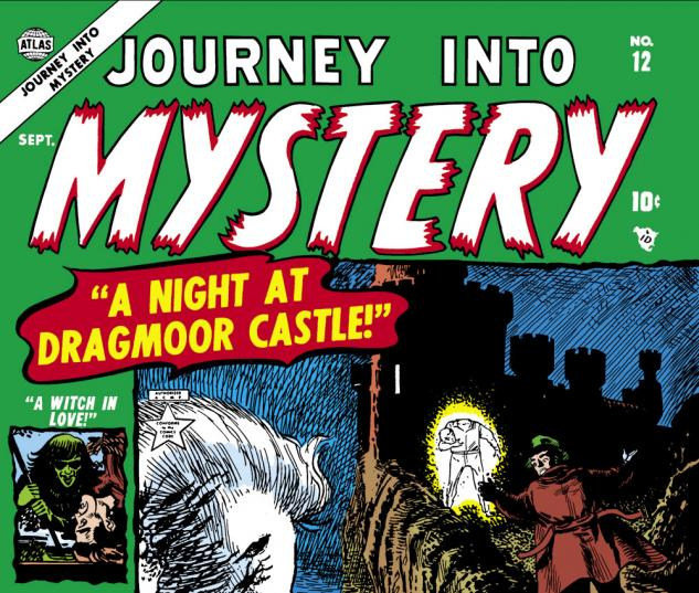 Journey Into Mystery (1952) #12 Cover
