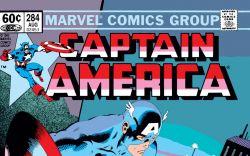 Captain America (1968) #284 Cover