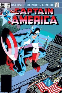 Captain America (1968) #284