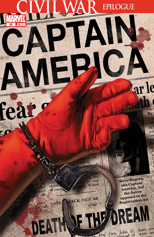 Captain America (2004) #25