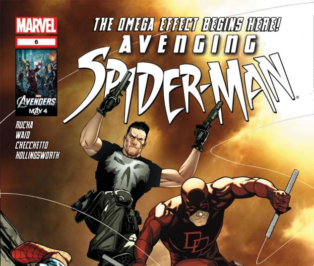 AVENGING SPIDER-MAN (2011) #6 Cover